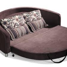Round Sofa Bed by Dark Brown Canvas Round Sofa Bed U2013 Homyxl