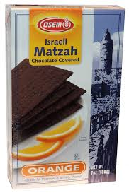 osem matzah osem israeli matzah chocolate covered orange flavor