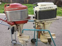 does anyone else collect or use old outboards their boats boating