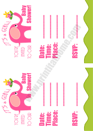 pink baby shower pink elephant baby shower invitations
