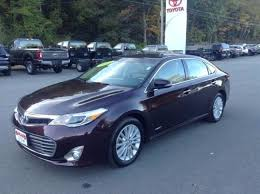 certified used toyota avalon certified used 2014 toyota avalon hybrid for sale near keene nh