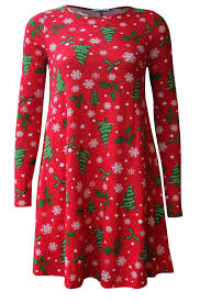 new women mothers u0026 daughter swing dress flared christmas party