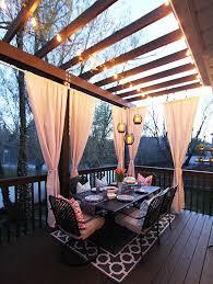 pispiration outdoor patio areas