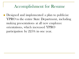 accomplishment for resume marketing your skills resume and ksa u0027s ppt video online download