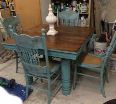 Repurpose Dining Room by Farm Table And Chair Updo Farming Chalk Paint And Paint Furniture