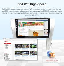 toyota web page 10 2 inch android 6 0 bluetooth radio for 2015 toyota camry with