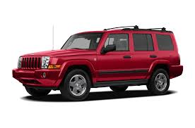 2010 jeep commander new car test drive