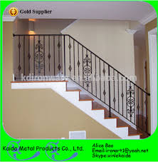 Iron Banister Spindles Stair Wrought Iron Balusters And Spindles With Basket For