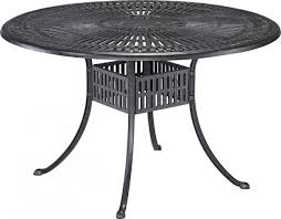 Dining Room Table Clipart Black And White Home Styles Largo 48 U0027 Round Outdoor Dining Table Patio Table