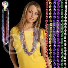 mardi gras beaded necklaces 33 mardi gras dice bead necklace goimprints