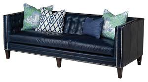 Navy Blue Leather Sofa Navy Blue Leather Sectional Sofa And Echo Blue Marlin Leather Sofa