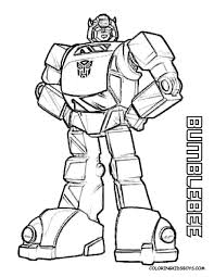 line drawing transformers bumble bee clipart image 31333
