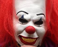 killer clown mask killer clown mask wearing boy 16 stabbed by friend who did not