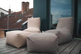 Ohrensessel Xxl Wohnzimmerm El Relaxfair Relaxsessel Sessel Lounge Xxl Sitzsack Mit Hocker Grau