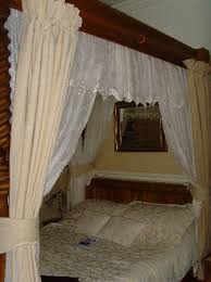 four poster bed picture of the old rectory at broseley broseley