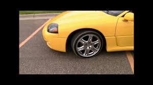 mitsubishi 3000gt yellow 1999 3000gt vr4 conversion youtube