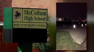 mccollum high school yearbook mccollum high school will install lights after band parents