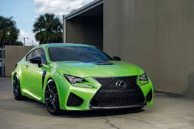 stanced lexus rcf lime green rc f on verona gunmetal rims by xo luxury u2014 carid com