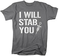 nursing shirts shirts by men s nurses t shirt i will stab you shirts for