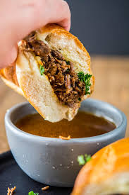 black friday amazon instant pot pressure cooker french dip sandwiches vs slow cooker french dips