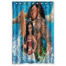 48 Inch Shower Curtain Scottshop Custom Moana Shower Curtain Waterproof