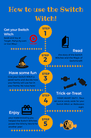 Poem On Halloween How To Use Your Switch Witch In 5 Steps The Switch Witch
