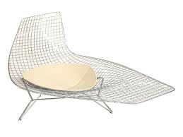 chaise bertoia knoll chaise chaise bertoia bertoia asymmetric chaise by knoll at