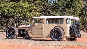 land cruiser africa this custom toyota fj40 land cruiser rod redefines awesome