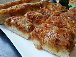 cuisine sicilienne recette cuisine sicilienne le sfincione palermitano