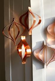 copper decorations party decorations wedding decorations mid century modern