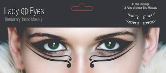 temporary makeup set of 2