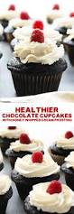 video healthier chocolate cupcakes with honey whipped cream