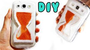 android cases diy liquid sand hourglass phone diy android phone cases