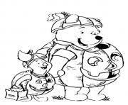 winnie pooh lion disney halloween coloring pages printable