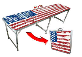 Beer Pong Table Size Tailgating Beer Pong Table Your Source For Party Perfection