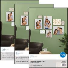 mainstays 11x17 format picture frame set of 3 walmart com
