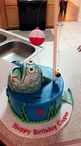 best 25 fishing birthday cakes ideas on pinterest fishing theme