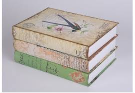 Diy Rural Home Decor Fake Book Shoot Props Simulation Books For