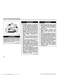 suzuki grand vitara 2008 3 g inspection and maintenance manual