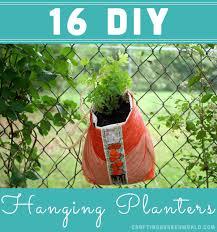 Diy Hanging Planters by 16 Diy Hanging Planters Crafting A Green World