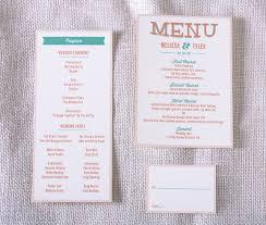 Modern Wedding Programs Wedding Invitation Program Paperinvite