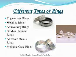 different types of wedding bands unique handcrafted wedding and engagement rings
