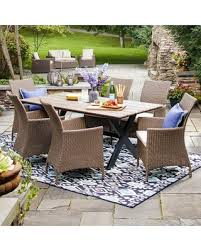 savings on patio furniture collection threshold heatherstone 7pc