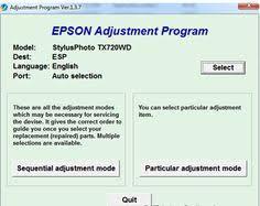 resetter ip1900 win 7 инструкция adjustment program adjprog rus epson епсон l100 l200