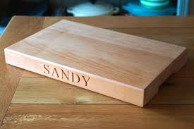 personalised cutting boards personalised beech chopping board makemesomethingspecial