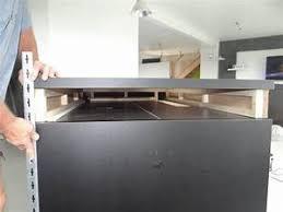 ilot cuisine avec table coulissante plan de travail coulissant cuisine mobalpa plan de travail bois