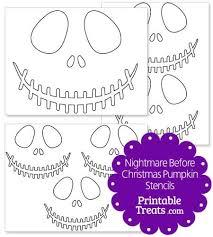nightmare before christmas pumpkin stencils skellington ideas the nightmare before christmas