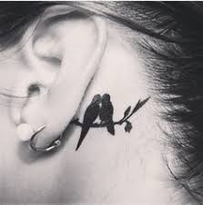 Tattoo Ideas For Behind Ear 11 Behind The Ear Tattoos That Are Too Cute To Hide Tiny Tattoo