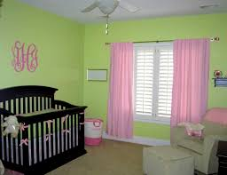 bedroom gorgeous impressive green and pink nursery best
