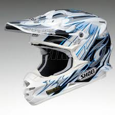 gear for motocross 2013 shoei vfxw motocross helmet k dub 3 tc2 blue shoei